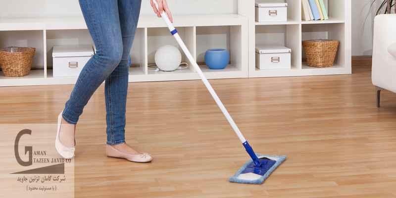 پاک کردن لکه های کفپوش لمینت