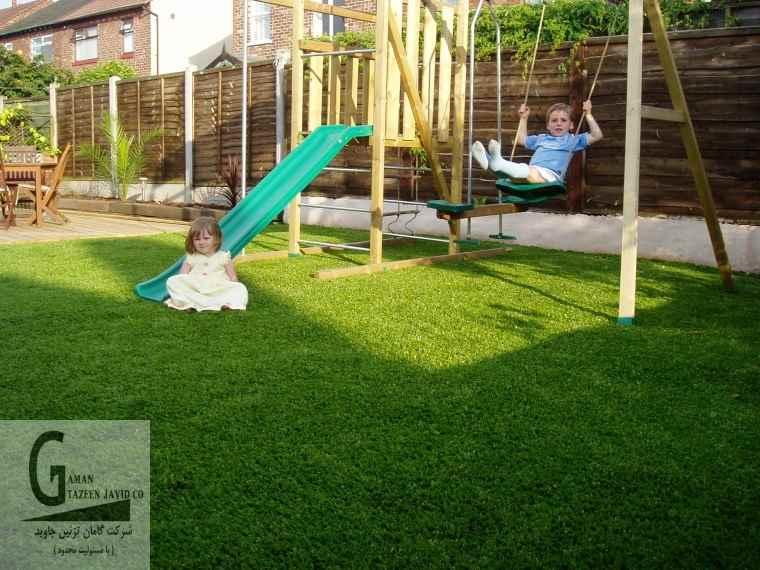 چمن مصنوعی زمین بازی کودکان