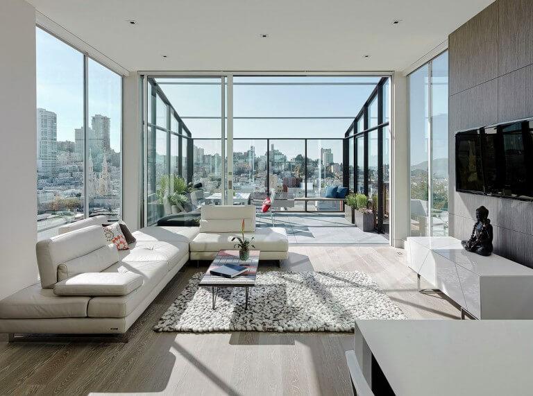 نور طبیعی در دیزاین خانه با پارکت لمینت
