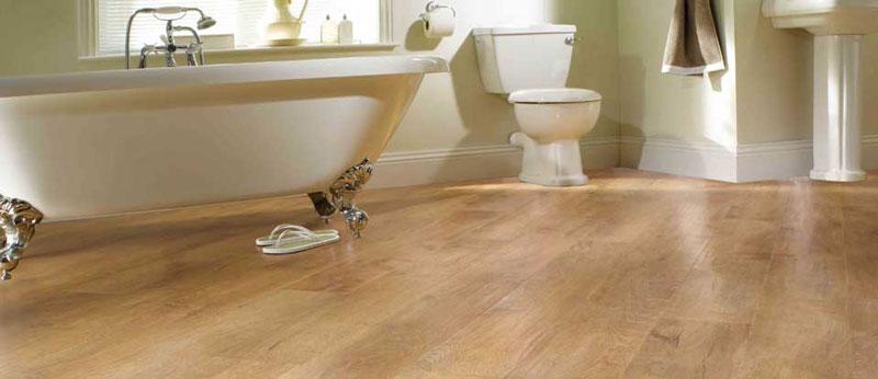کفپوش حمام و سرویس بهداشتی لمینت