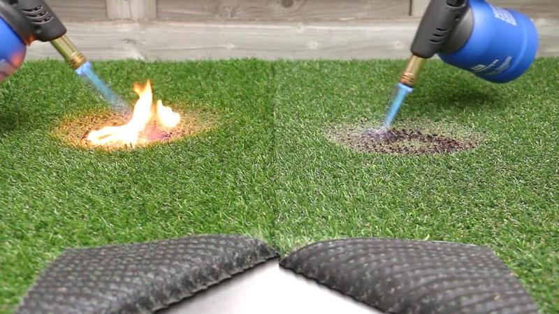 چمن مصنوعی ضد آتش