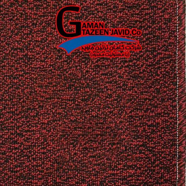 موکت ظریف مصور رها رنگ قرمز