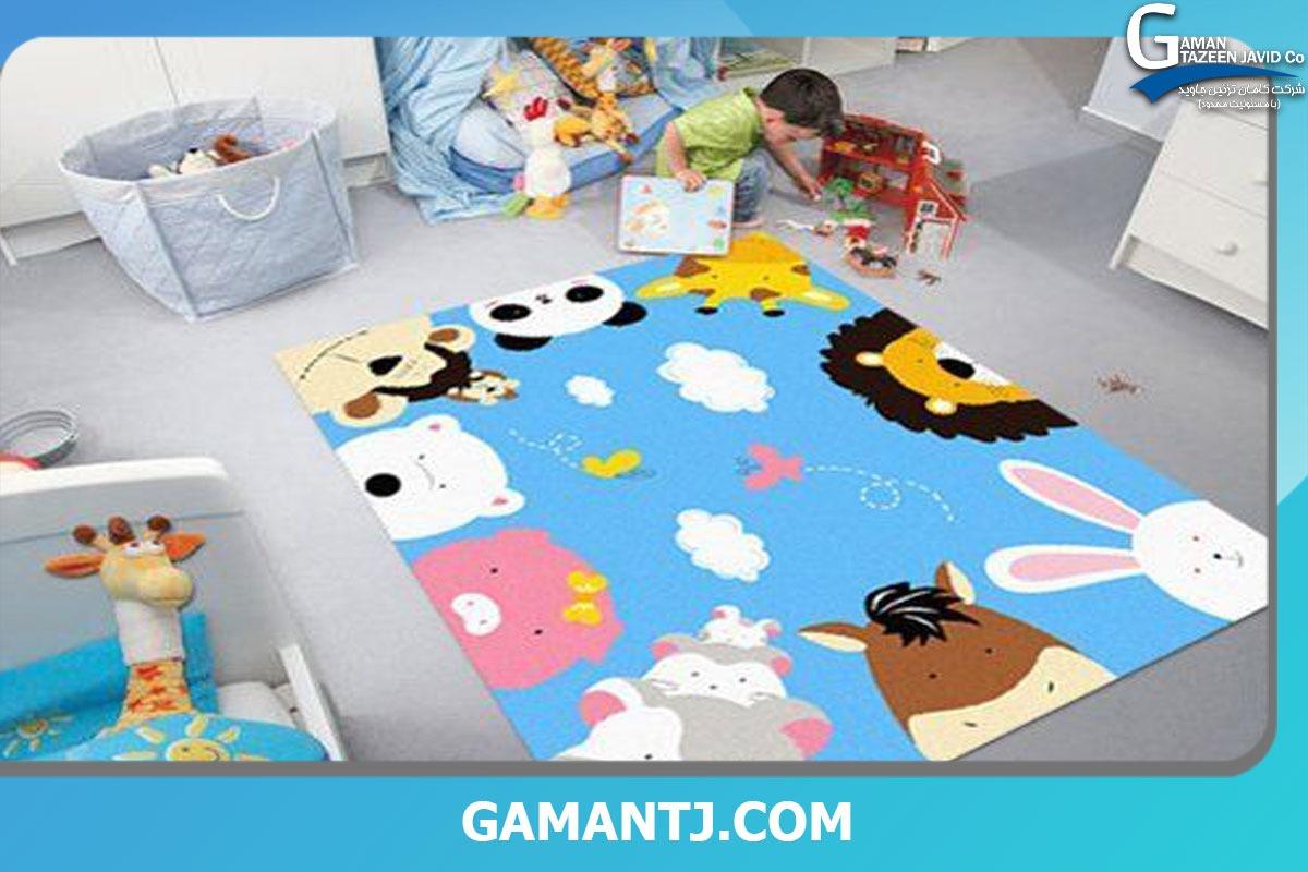 رنگ موکت اتاق کودک