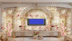 پوستر دیواری کلاسیک سه بعدی