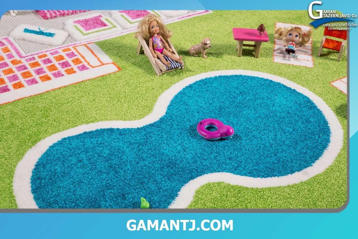 خرید چمن مصنوعی اتاق کودک