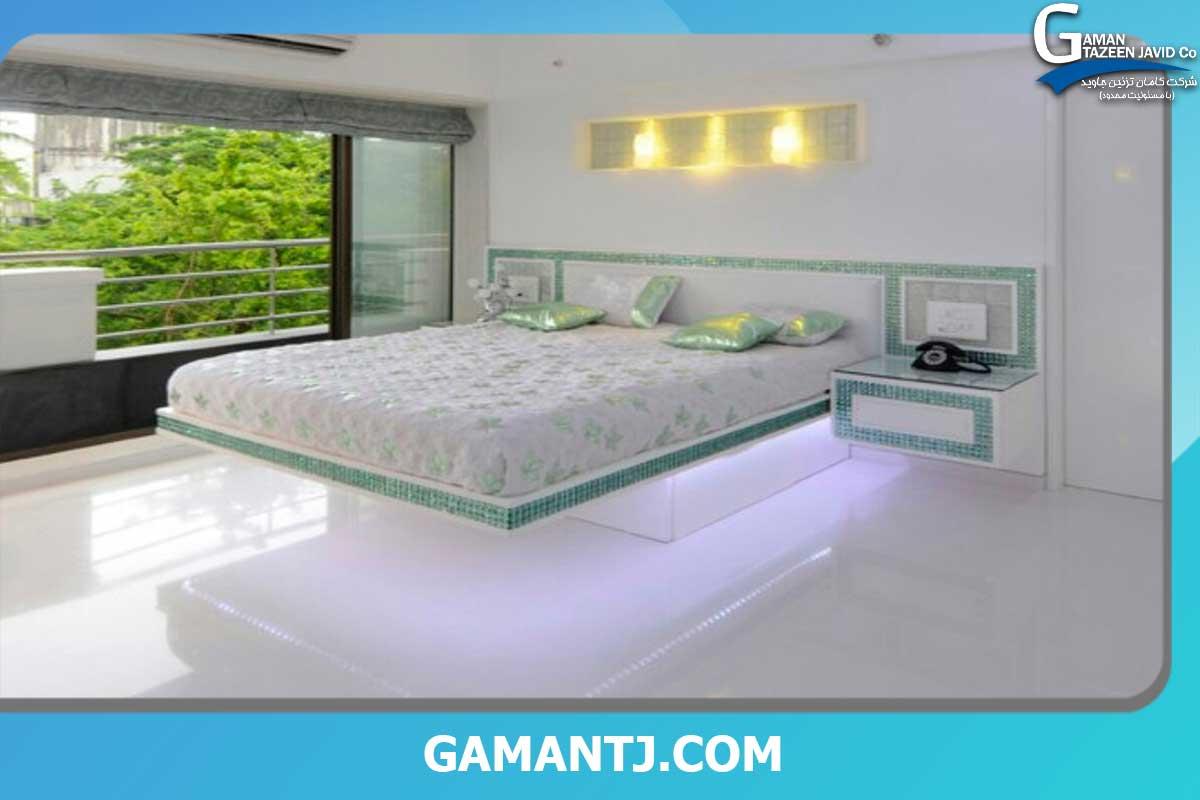پوشش کف اتاق خواب