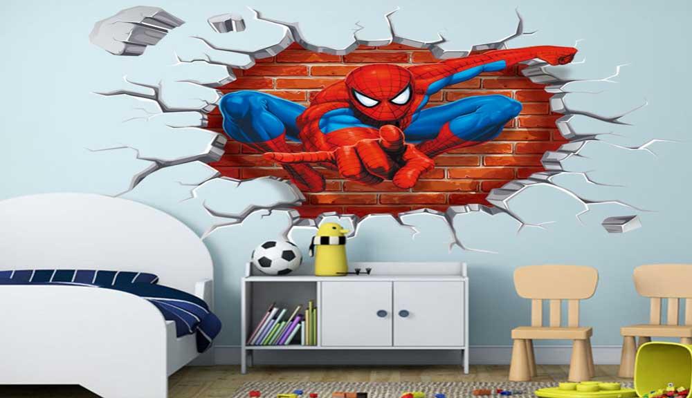 نصب پوستر دیواری اتاق خواب