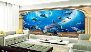 خرید پوستر دیواری با طرح دریایی