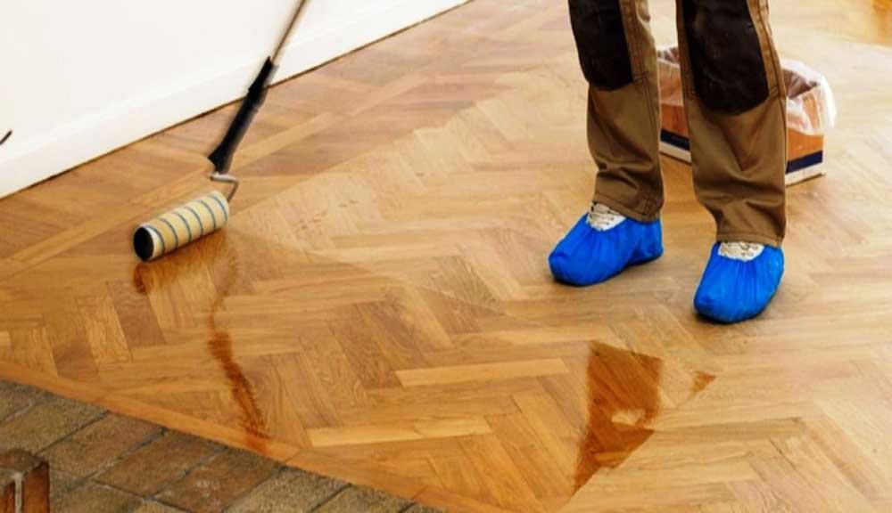 نظافت کفپوش چوبی