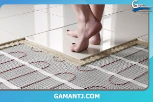 کفپوش برای سیستم گرمایش از کف
