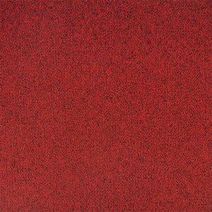 موکت تایل فرانسوی Tecsom کد ۹۶ سیتی اسکور قرمز