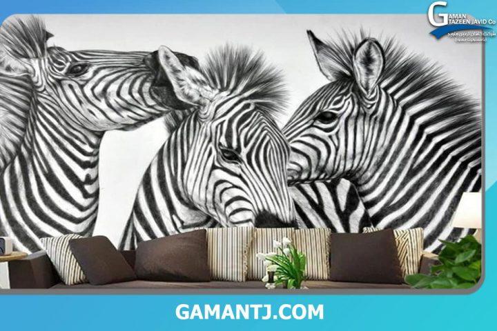 پوستر دیواری با طرح حیوانات