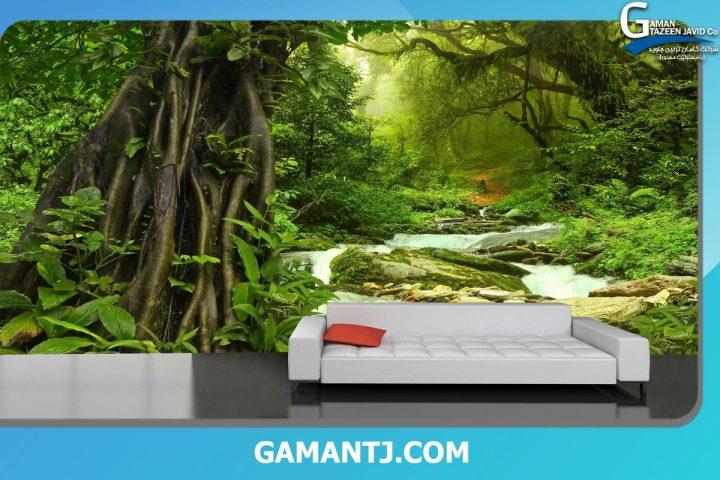 پوستر دیواری طرح جنگل