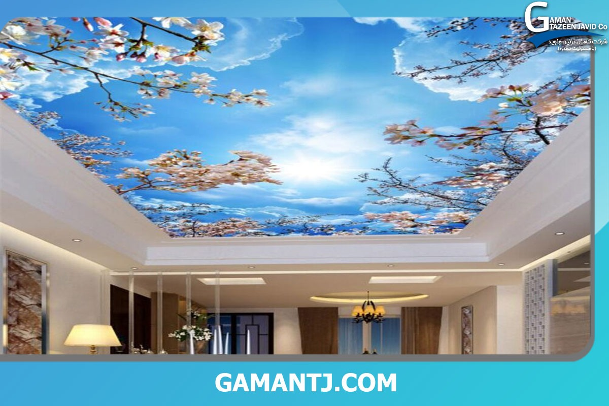 پوستر سه بعدی سقفی