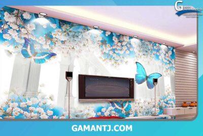 انواع پوستر دیواری گل