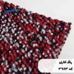 موکت ظریف مصور طرح مونترال رنگ اناری