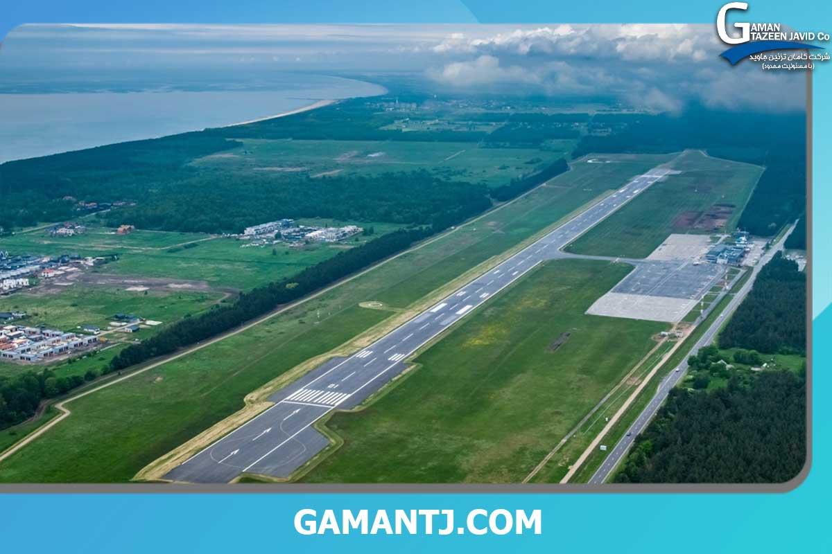 چمن مصنوعی باند فرودگاه