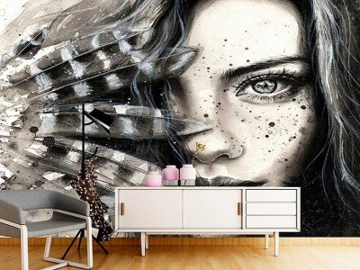 پوستر دیواری طرح چهره